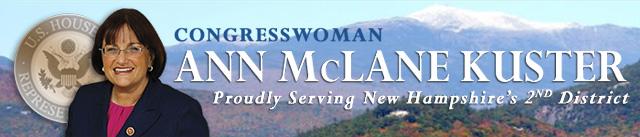 Representative Ann McLane Kuster