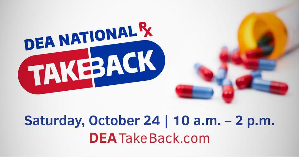 Drug Take Back Day graphic