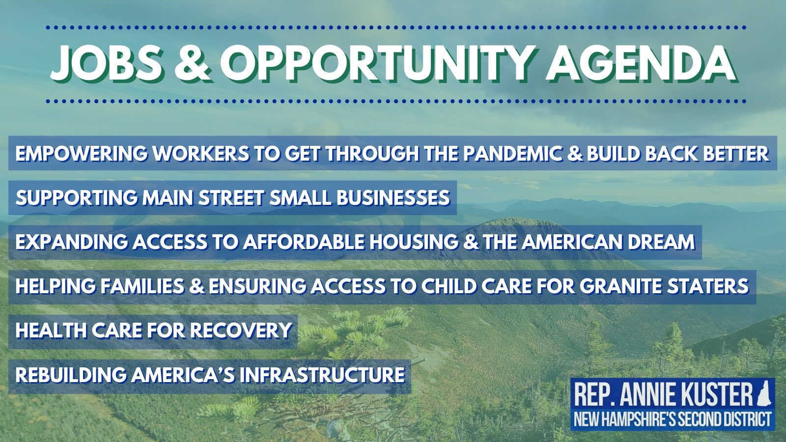 jobs and opportunity agenda