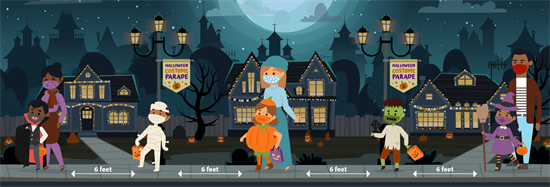 Trick or Treating Safely During COVID