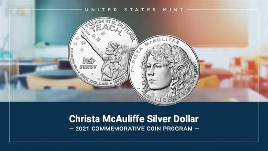 McAuliffe coin