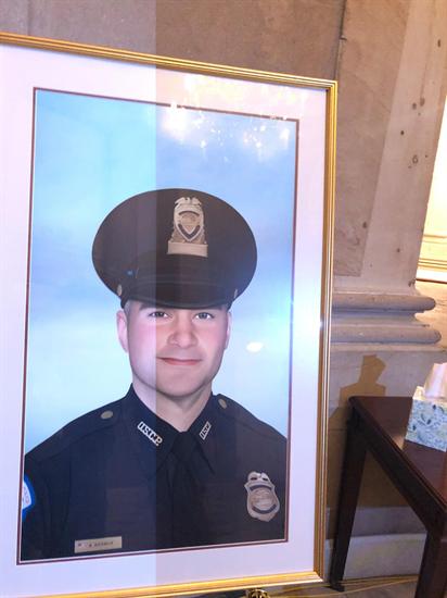 Officer Sicknick portrait